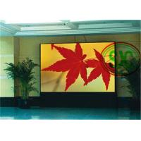 China Fixed Installation Waterproof LED Screen Regular Steel Or Aluminum Cabinet wholesale