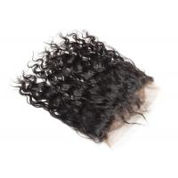 China No Smell Lace 360 Virgin Hair Frontal Water Wave Unprocessed Brazilian Human Hair wholesale