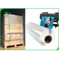 China 180gsm 230gsm Glossy / Satin Double Side Inkjet Paper For Poster 203mm x 65m on sale