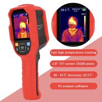 China UTi165K Infrared Thermal Imager Human Thermometer Resolution 0.1C With Backlight Yellow Green  Red on sale