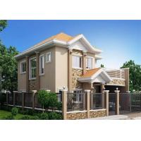 China Fireproof Soundproof Prefab Steel House Anti - Pressure Eco - Friendly wholesale