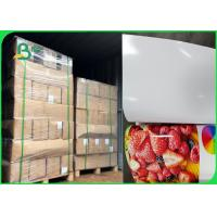China Inkjet Printers Sticky - Backed 180 / 200gsm Glossy Photo Paper In Ream on sale