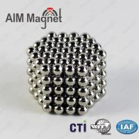 China rare earth permanent NdFeB magnet ball n35 5mm on sale