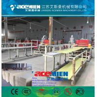 China WPC/PVC wood panel plastic profile production line making machine wholesale