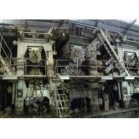 China Single Wire Kraft Paper Machinery Stable Running Output 155T / Day on sale