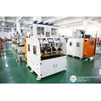 China Full Automatic Stator Electric Motor Winding Machine With Eight Working Station wholesale