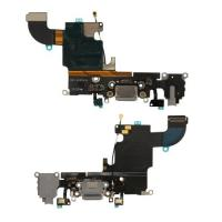 "4.7"" Black Charging Port Flex Cable Compact Structure Mild Installation For Apple 6S"
