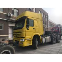 China Hard And Firm 6×4 Prime Mover Truck / Optional Color Howo Tractor Truck wholesale
