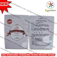 China Mylar Heat Sealed Comestic Packaging Bag With Tear Notch wholesale