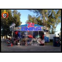 China Outdoor 7d cinema equipment dynamic seats with Beautiful 7D Cinema Cabin wholesale