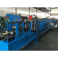 China 85mm Shaft Dia Rack Roll Forming Machine With Computer Control Cabinet wholesale