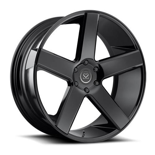 "Quality 19"" deep disc aluminium forged 1 piece chrome wheel rim for sale"
