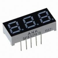 China 7 Segment LED Numeric Display with 0.28-inch Three Digits, Used for Controller wholesale
