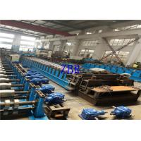 China Full Automatically Silo Forming Machine , 20 Roller Stations Roll Former Machine wholesale