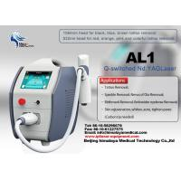 Quality Yag Laser Tattoo Removal Equipment , beauty nd yag laser machine salon for sale