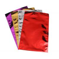 China Colorful Aluminum Foil Envelopes Moisture Proof Three Side Seal For Mailing wholesale