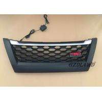 China Matte Black TRD Front Grill With LED Lights For Toyota Fortuner 2018 / Fortuner Accessories wholesale