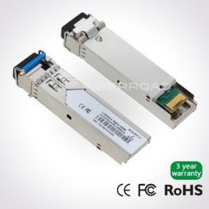 China 1.25Gb/s 40Km LC BiDi SFP Optical Transceiver Module With BX-D TX 1490 / RX 1310 wholesale