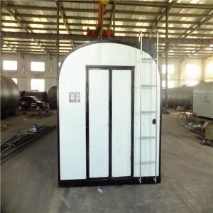 China White Bitumen Storage Tank Flue Heating / Thermal Oil Coils Heating Easy Transfer wholesale