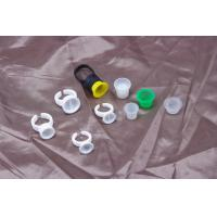 China Disposable Pigment Ring Cup / Tattoo Ink Cups For Permanent Makeup Tattoo on sale