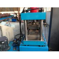 China 3 Tons Decoiler Shutter Door Frame Roll Forming Machine 40GP Container Maximal to 1.2mm wholesale
