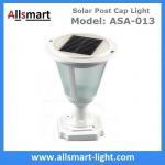 China Aluminum Black or White Westinghouse Solar Lamp Post Caps Solar LED Garden Pillar Lights Solar Landscape Lights wholesale