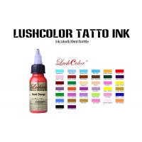 China 1 Oz 2 Oz 4 Oz Stable Liquid Permanent Tattoo Ink With Light Blue 54 Colors Available wholesale