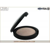 China Natural Matte Powder Foundation , Suncreen Baked Powder Foundation For Oily Skin wholesale