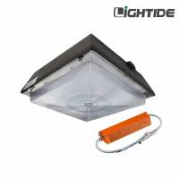 China Battery Operated Canopy Lights LED 90W, 100-277VAC, Emergency Time 90~180 minutes, 5 yrs warranty on sale