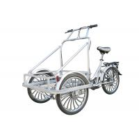 China Electric Cargo Tricycle with Cabin , Man-powered Ice Cream Tricycle wholesale