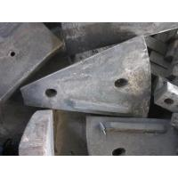 China Cr-Mo Alloy Steel For Ball Mill Side Liners With HRC33-43 And AK 70J wholesale