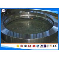 Quality SCM445 / 50CrMo4 Forged Rings , Diameter 50-1000 Mm Din 1.7228 Steel Forged for sale