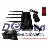Buy cheap Mobile Phone Signal Jammer Able To Be Used In Car + 40 Meter Range from wholesalers