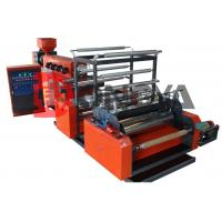 Quality Single Layer Stretch / Cling Film Extruder Machine 500 - 1500mm Width for sale