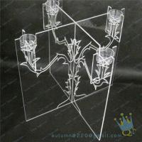 China CH (21) wholesale Acrylic candle holder wholesale