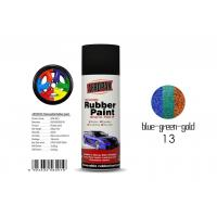 China Insulate Rubber Coat Spray Paint Chameleon Blue - Green - Gold Color For Car Body wholesale