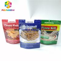China Zip Lock Seed Bag Plastic Pouches Packaging Moisture Proof PET Mylar Pouch wholesale
