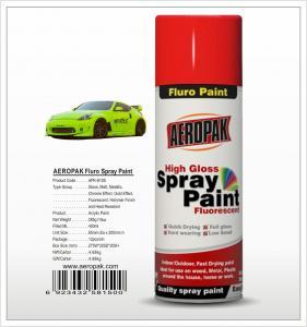 China Aeropak  aerosol can 400ml 10oz Fluorescent spray paint with all colors acrylic wholesale