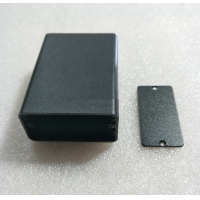 Buy cheap OEM Black Red Sandblasting Extruded Aluminum Case from wholesalers