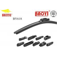 China Optional Size Frameless Rubber Wiper Blades Clean Windshield FIt For 95% Vehicle wholesale