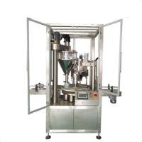 China automatic bottle can tin coffee powder packing machine price wholesale
