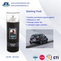 China Low Temperature Engine Starter Fluid / Quick Starting Fluid Spray Car Care Products wholesale