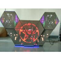 China P5 full color led dj booth with multi screens adjustable brightness for bar club wholesale