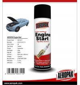 China AEROPAK 500ML aerosol spray can gasoline and diesel Engine Starter wholesale