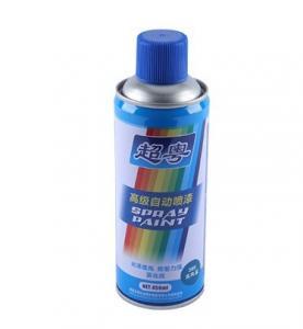China Sky Blue / Medium Blue Color Aerosol Spray Paint wholesale