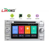 China 32GB ROM Ford F150 Dvd Player , Steering Wheel Control Double Din Radio With Gps wholesale