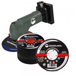 China 115 X 1.2 X 22.23mm Abrasive Inox Cutting Discs 2 In 1 wholesale