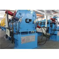 China Galvanized Steel Downspout Roll Forming Machine Hydraulic Decoiler 1 Inch Chain 3 Ton wholesale