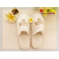 China Disposable Wholesale New Design Popular Terry Cloth Hotel Slippers wholesale