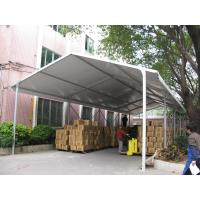 China White PVC Fabric Roof Industrial Storage Tents Customized ISO CE Certification wholesale